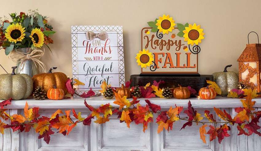 Adventures In Decorating Our Fall Kitchen: Fall Home Decorating Ideas